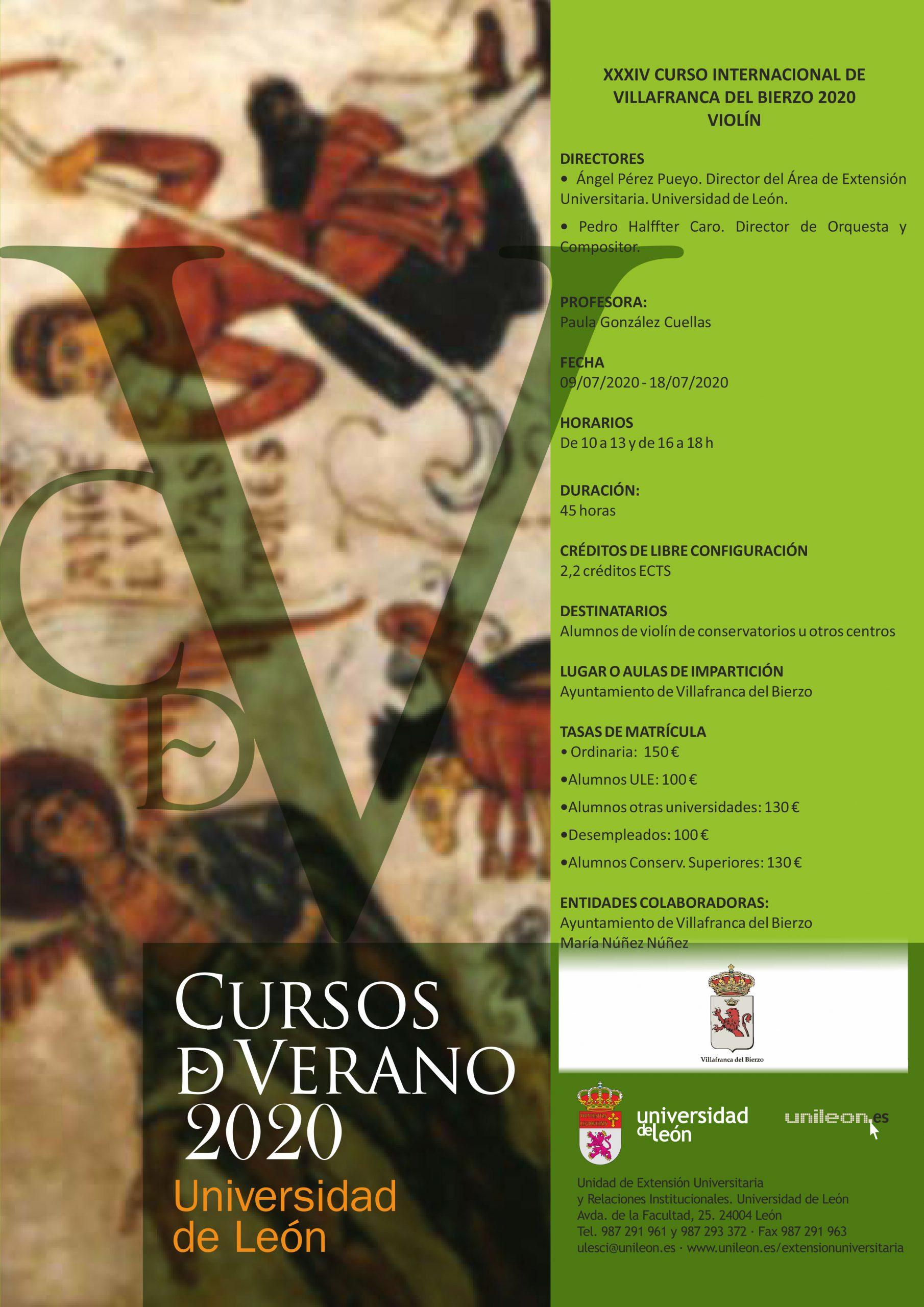 Villafranca violin cartel